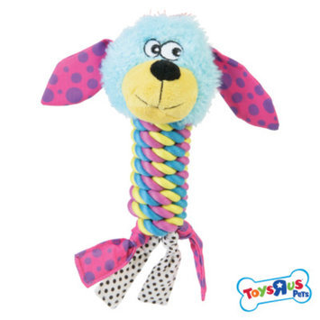 Toys R Us Twisted Rope Body Squeaker Dog Toy