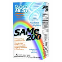 Doctor's Best Sam-e 200 mg, 60-Count