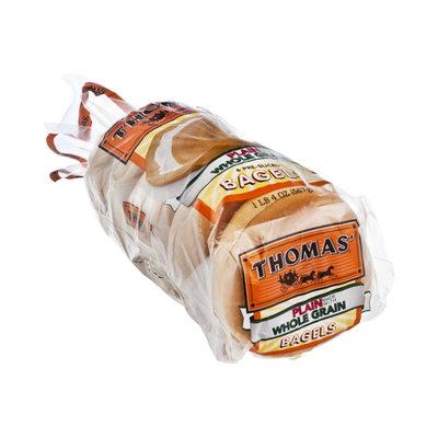 Thomas' Plain Whole Grain Bagels