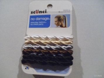 Scunci No Damage Ponytail Holders, Assorted Colors, 6 pieces - L & N SALES & MARKETING