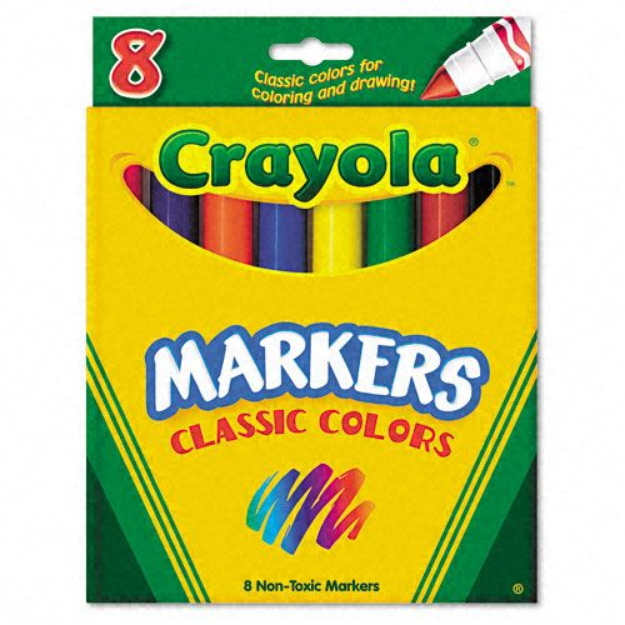 Kmart.com Crayola Classic Colors Non-Washable Marker