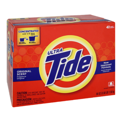 Tide Ultra Original Scent Concentrated Laundry Powder