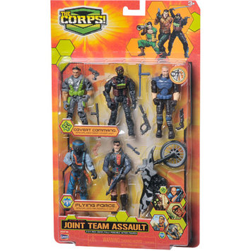 The Corps Joint Assault Team with Gray Cycle Ages 3 +, 1 ea