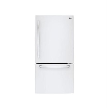 LG 23.8 cu. ft. Bottom-Freezer Refrigerator LDC24370SW