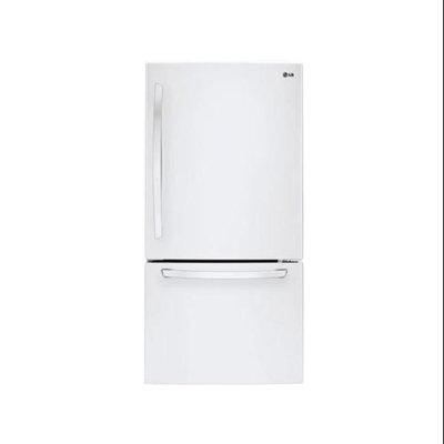 LG 23.8 cu. ft. Bottom-Freezer Refrigerator LDC24370SW