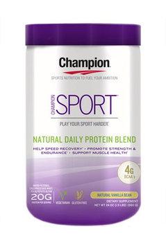 Champion Naturals - Sport Natural Daily Protein Blend Natural Vanilla Bean - 24 oz.