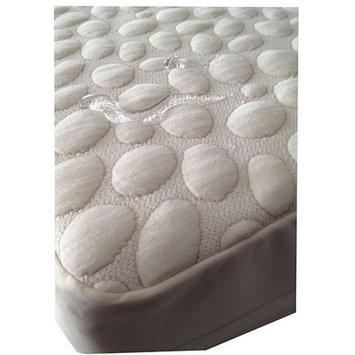 My Little Nest Pebbletex Tencel Quilted Waterproof Crib Bed Bug Encasement