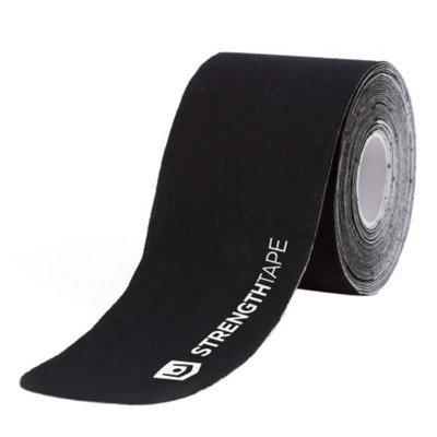 Stander StrengthTape Kinesiology Tape 35m Uncut Roll, Black, 1 ea