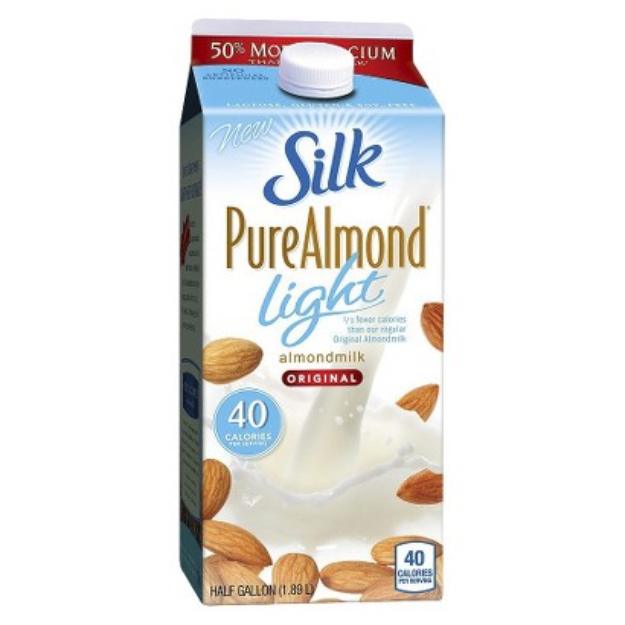 Silk Almond Milk Original Light 64oz