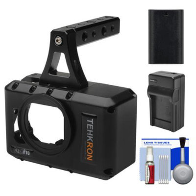 Tehkron CagePro Powered Cage for GoPro HERO3/HERO3+ Action Camera with Battery & Charger + Kit