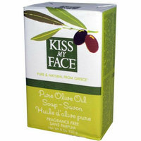 Kiss My Face Corp. Kiss My Face Bar Soap Pure Olive Oil Fragrance Free 8 oz
