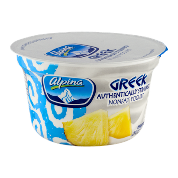 Alpina Greek Nonfat Yogurt Pineapple