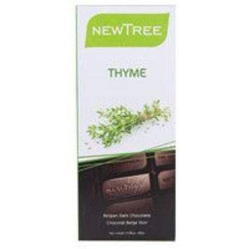 Newtree Tree Belgian Dark Chocolate Bar Thyme -- 2.82 oz