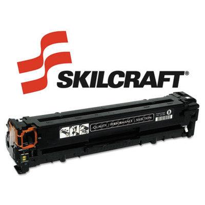 Skilcraft SKILCRAFT SKL-CB540A SKILCRAFT Remanufactured CB540A (125A) Toner, 2200 Page-Yield, Black