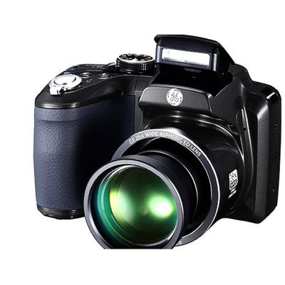 GE Refurbished Power PRO Series X2600 Compact System Digital Camera with 16.1 Megapixels, 26x Optical Zoom and 4.7mm-122.2mm Lens Included