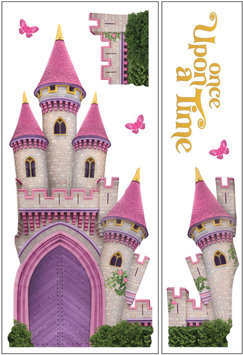 Paper House Productions, Inc Sticky Pix Removable & Repositionable Ultimate Wall Sticker Mini Mural Appliques - Princess
