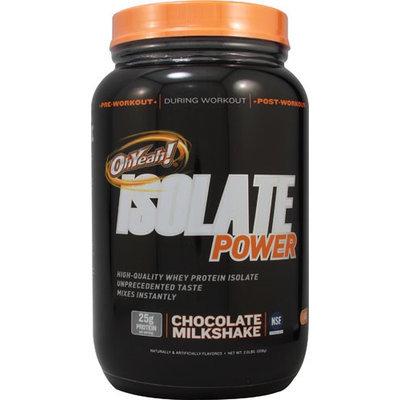 ISS Oh Yeah, Isolate Powder Chocolate Milkshake 2 lbs