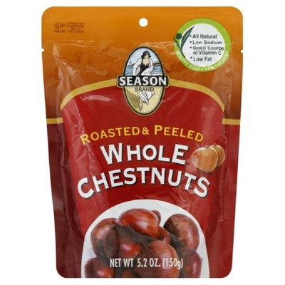 Season Roasted & Shelled Whole Chestnuts, 5.3-Ounce (Pack of 6)
