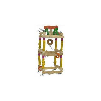 A & E Cage Co A & E Cage HB46529 Large Hanging Double Tower - 17.3