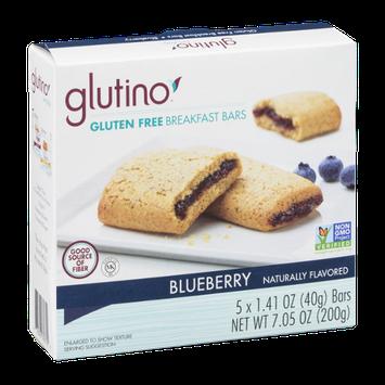 Glutino Gluten Free Breakfast Bars Blueberry - 5 CT