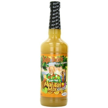 Baja Bob's Maui Madness Mai Tai Mix, Sugar Free, 32-Ounce Bottles (Pack of 6)