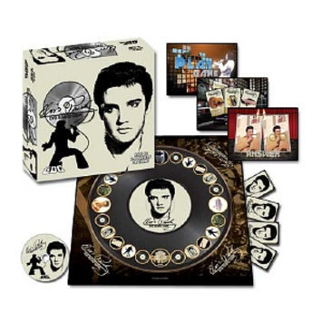 GDC-GameDevCo Elvis Presley DVD Board Game Ages 8+