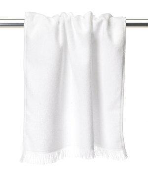 Anvil Mark Anvil T640 Fringed Hand Towel One Size White