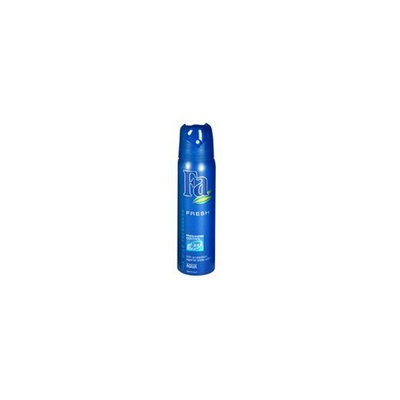 Abercrombie & Fitch Fa 24 hour active deodorant aerosol spray, fresh - 6.75 oz