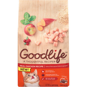 Goodlife Adult Chicken Cat Food, 3.5 lbs