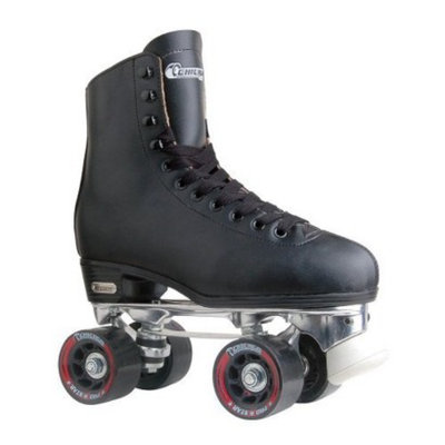 Men's Chicago Deluxe Leather Rink Skates - 6