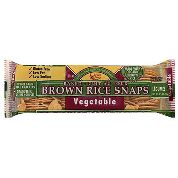 Edward & Sons Vegetable Brown Rice Snaps