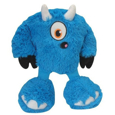 goDog 770923 Yeti Bully Dog Toy, Blue