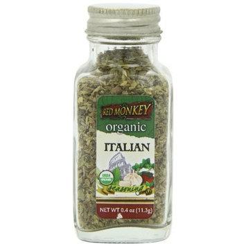 Red Monkey Foods Red Monkey Organic Italian Seasoning, 0.4 Ounce (Pack of 3)