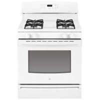 GE JGBS18DENWW Gas Range - Freestanding - 30 Wide - 1 Oven(s) - 4 Cooking Elements - White