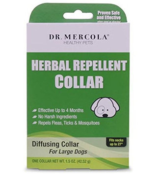 Dr Mercola Herbal Repellent Collar - Large Dogs