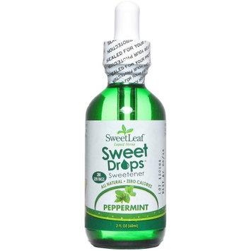 SweetLeaf Sweet Drops Peppermint Liquid Stevia Sweetener, 2 fl oz