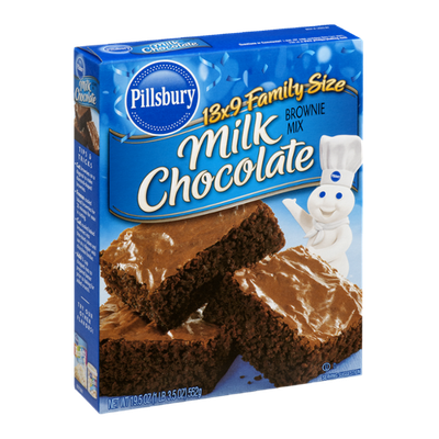 Pillsbury Brownie Mix Milk Chocolate Family Size