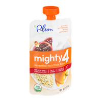 Plum Organics Mighty 4 Pumpkin, Pomegranate, Quinoa Greek Yogurt