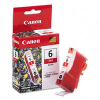 Canon BCI-6R Ink Cartridge - Red - Inkjet