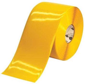 SHIELDMARK 6RY Marking Tape, Roll,6In W,100 ft. L