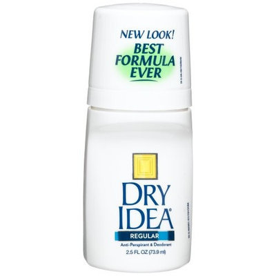 Dry Idea Clear Gel Anti-Perspirant & Deodorant, Regular, 2.5-Ounce Tubes (Pack of 4)