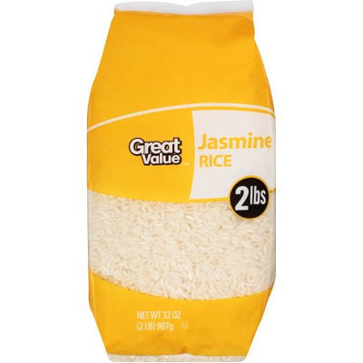 Wal-mart Stores, Inc. Great Value Jasmine Rice, 2 lb