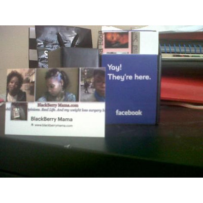 Facebook Cards from Moo.com