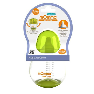 Lansinoh Momma Spill-Proof Cup Orange For Baby