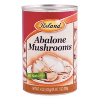 Roland Abalone Mushrooms, 14-Ounce Cans (Pack of 24)