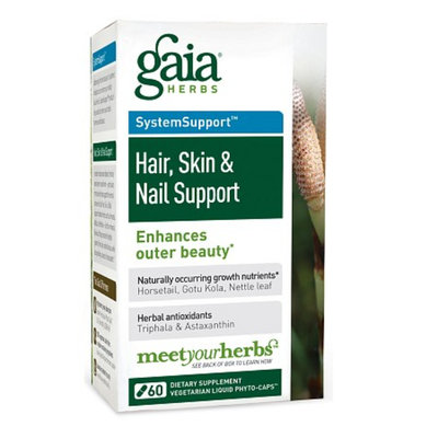 Gaia Herbs Skin & Nail Support with Gotu Kola