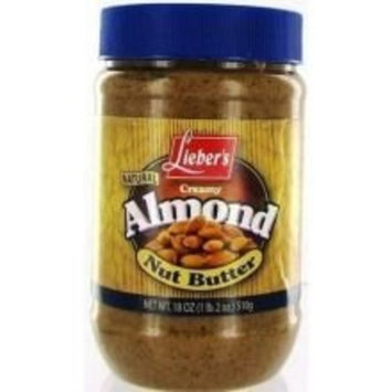Liebers Butter Almond 18.0000 OZ (Pack of 12)