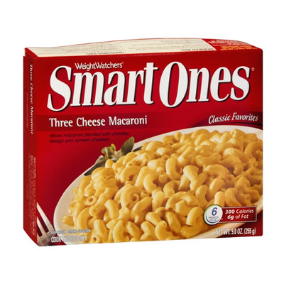 Weight Watchers Smart Ones Classic Favorites Three Cheese Macaroni