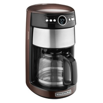 KitchenAid 14-Cup Glass Carafe Coffee Maker- Espresso KCM1402