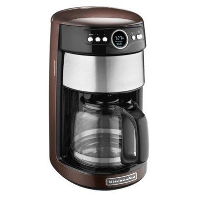 KitchenAid 14-Cup Glass Carafe Coffee Maker- Espresso KCM1402